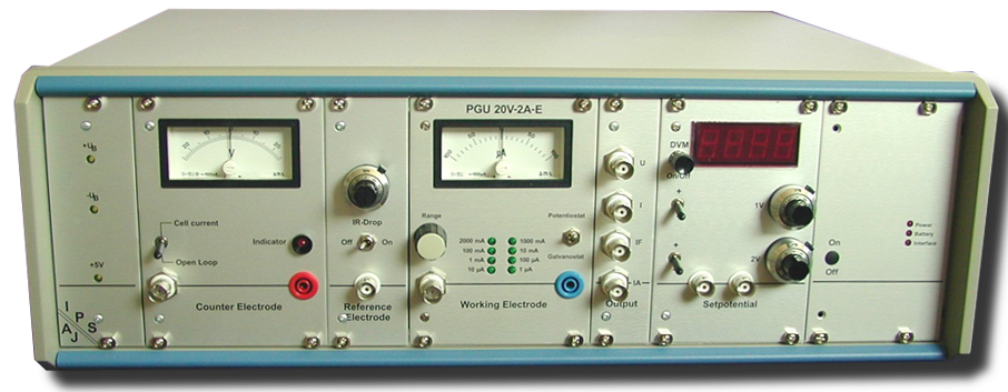 Potentiostat PGU 20V-2A-E
